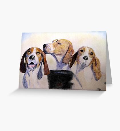Middleburg Hounds Greeting Card