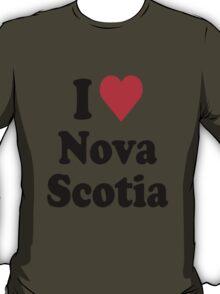 I Heart Love Nova Scotia T-Shirt