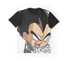 Chibi Vegeta Graphic T-Shirt