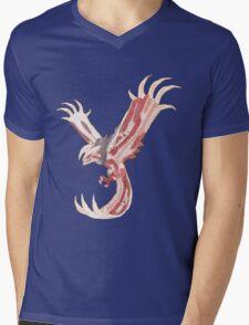 Bacon Shiny Yveltal Mens V-Neck T-Shirt