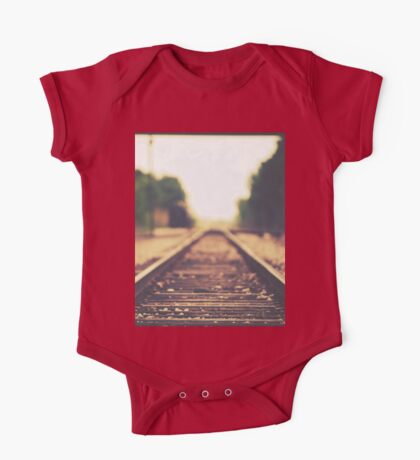 Down the Tracks One Piece - Short Sleeve