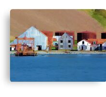 Stromness Whaling Station 1 Canvas Print