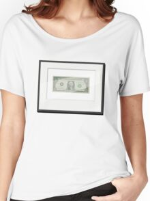 My First Dollar Women's Relaxed Fit T-Shirt