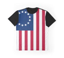 Betsy Ross flag Graphic T-Shirt