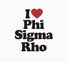 I Heart Love Phi Sigma Rho by HeartsLove