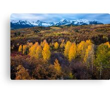 Dallas Divide Fall - Ridgway - Colorado Canvas Print