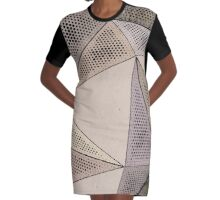 Triangles, triangles, triangles... Graphic T-Shirt Dress