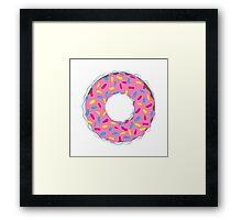 Junkie Threads Donut Framed Print