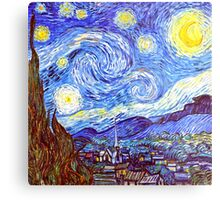 The Starry Night HDR Metal Print