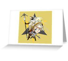 OVERWATCH - MERCY CHIBI Greeting Card