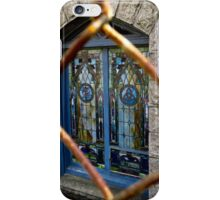 Stained Glass in Cambridge Massachusetts iPhone Case/Skin