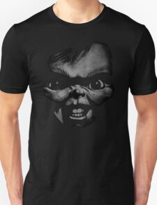 black n white chucky Unisex T-Shirt