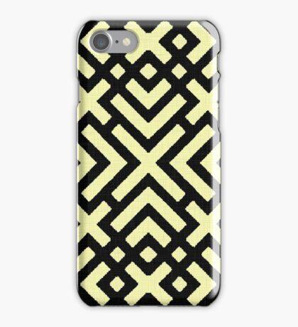 The X labirynth iPhone Case/Skin