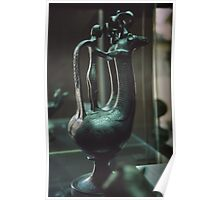 C7 BC Etruscan Jar Vatican Museum Rome Italy 19840723 0019  Poster