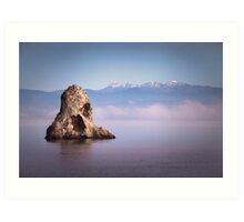 Fifeshire Rock - Nelson - NZ Art Print