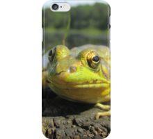 Posing Frog iPhone Case/Skin