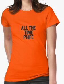 phife Womens Fitted T-Shirt
