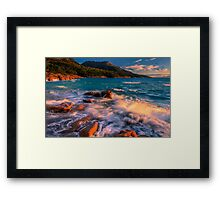 Sunset in Honeymoon Bay Framed Print