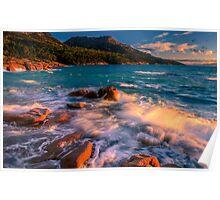 Sunset in Honeymoon Bay Poster