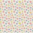 Rainbow Stars Pastel by SpiceTree