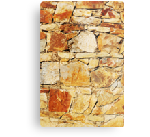 Stacked Stone Metal Print