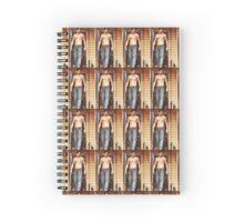 Shirtless Sebastian Stan Spiral Notebook