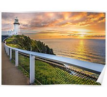 Sunrise at Cape Byron Poster