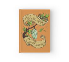 Abandon Complacency Hardcover Journal