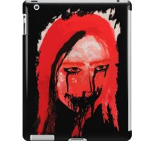 Creppy scary horror Lady iPad Case/Skin