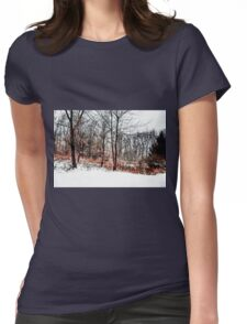Winter in IR Womens Fitted T-Shirt