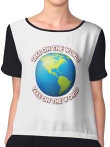 Take On The World - Girl Meets World Chiffon Top