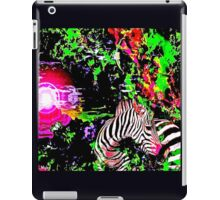 Zebra in Paradise iPad Case/Skin