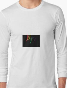 Oil-Brush Pride LGBTQ Long Sleeve T-Shirt