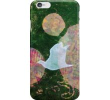 Three Cosmic Birds Digitally Altered Version of Original Work 11 iPhone Case/Skin