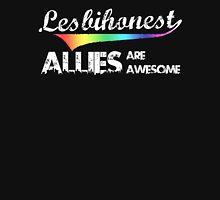 Lesbihonest Men's Baseball ¾ T-Shirt