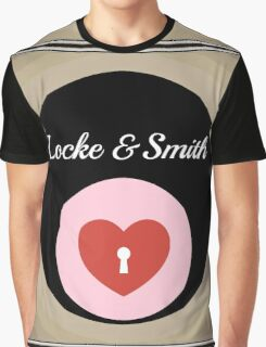framed lock smith love heart hey hole Graphic T-Shirt