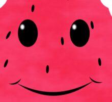 Smiling Cartoon Watermelon Sticker