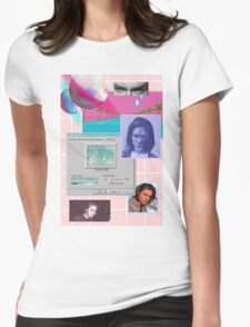 90s Aesthetic - River Phoenix  Womens Fitted T-Shirt