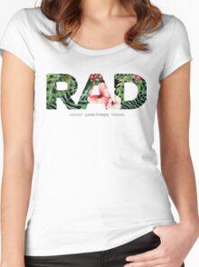 Junkie Threads RAD Women's Fitted Scoop T-Shirt