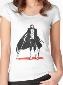 Shanks The Red Hair Women's Fitted Scoop T-Shirt