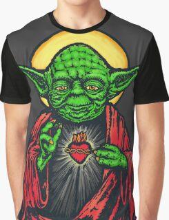 Holy Jedi Master Graphic T-Shirt