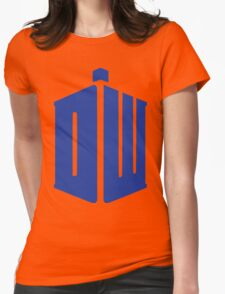dr. who Womens Fitted T-Shirt