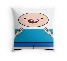 Adventure Time - Finn The Human Throw Pillow