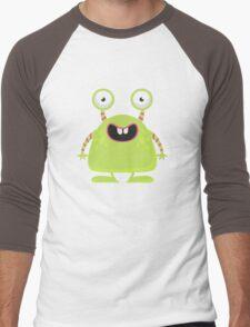 Cute Silly Monster Thing Men's Baseball ¾ T-Shirt