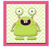 Cute Silly Monster Thing Photographic Print