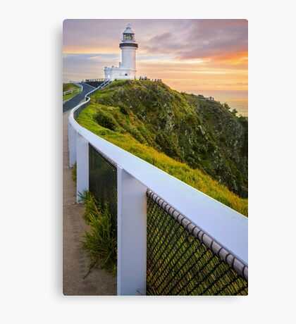 Cape Byron Lighthouse at Sunrise Canvas Print