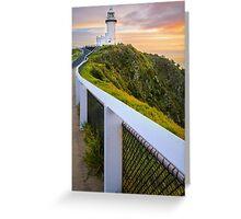 Cape Byron Lighthouse at Sunrise Greeting Card