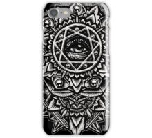Eye of God Flower Mandala iPhone Case/Skin