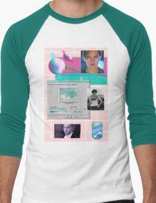 90s Leonardo Dicaprio Aesthetic  Men's Baseball ¾ T-Shirt