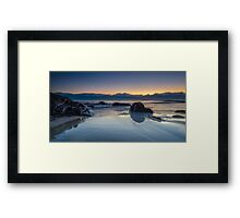Cabarita Beach, NSW, Sunrise Reflections Framed Print